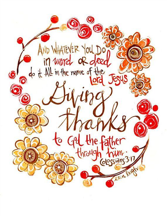 Thanksgiving clip art scripture.