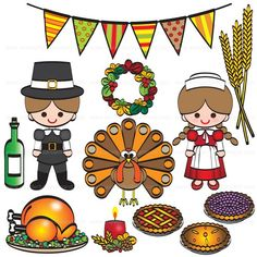 Give Thanks With This Great Clip Art.