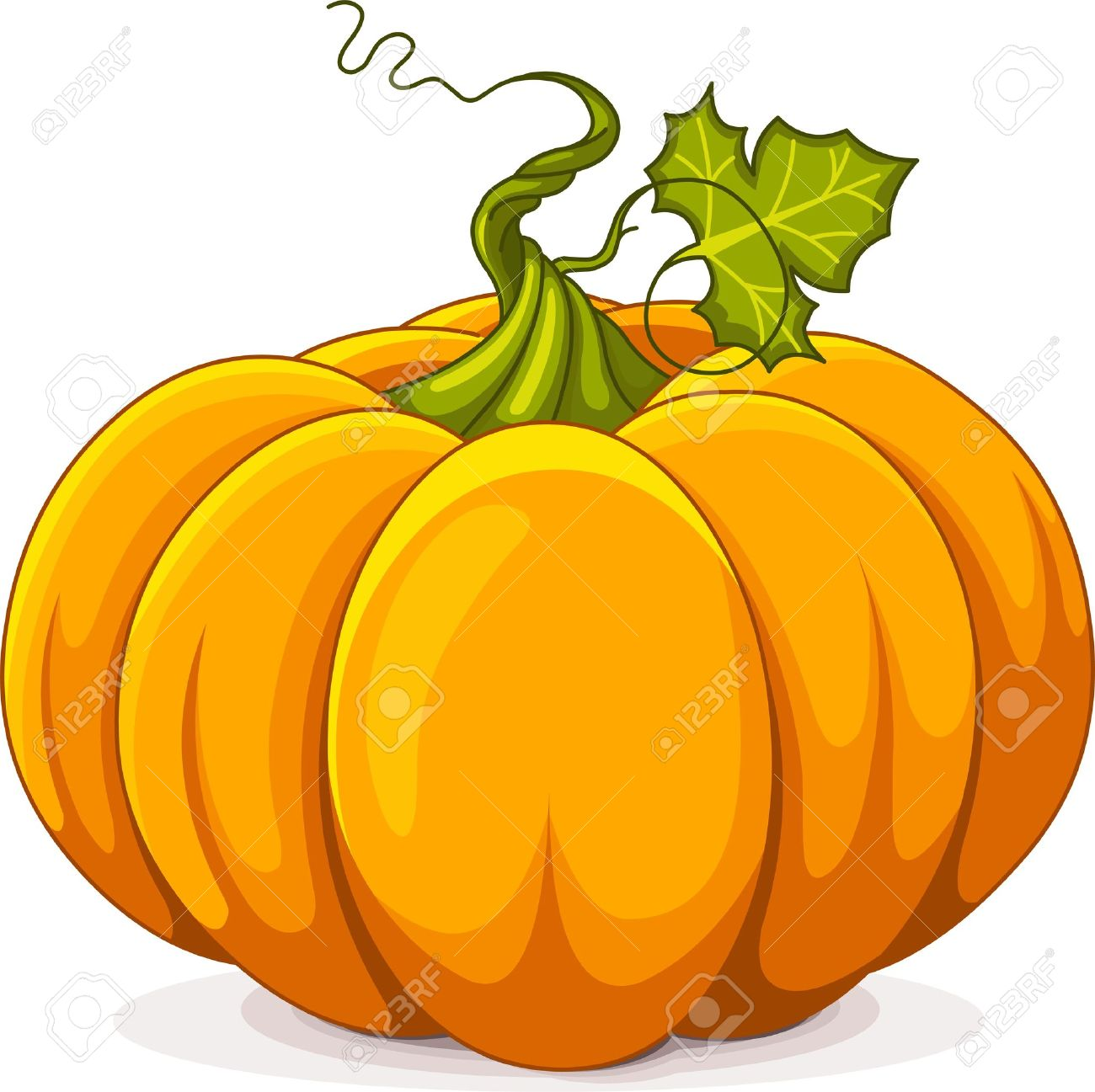 Illustration Of Autumn Pumpkin Royalty Free Cliparts, Vectors, And.