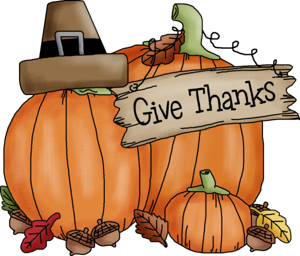 Thanksgiving pumpkin clip art.