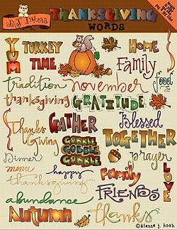 Thanksgiving Quotes Clip Art. QuotesGram.