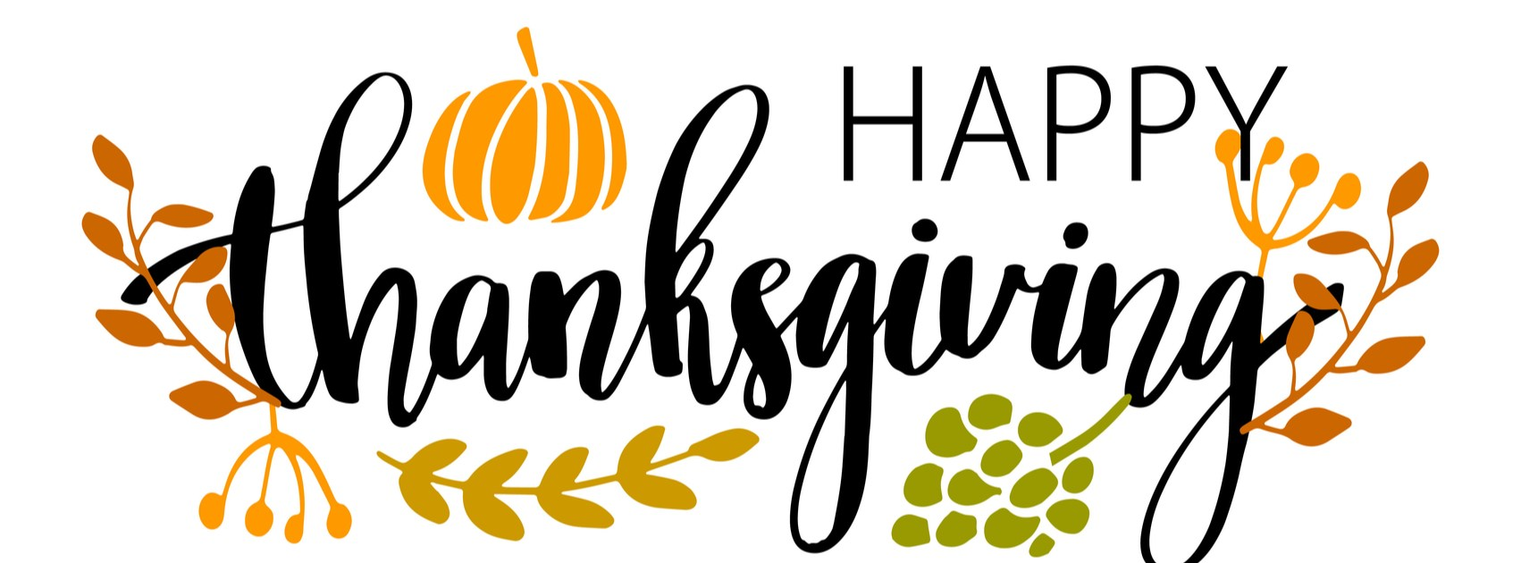 Thanksgiving Holiday Clip Art.