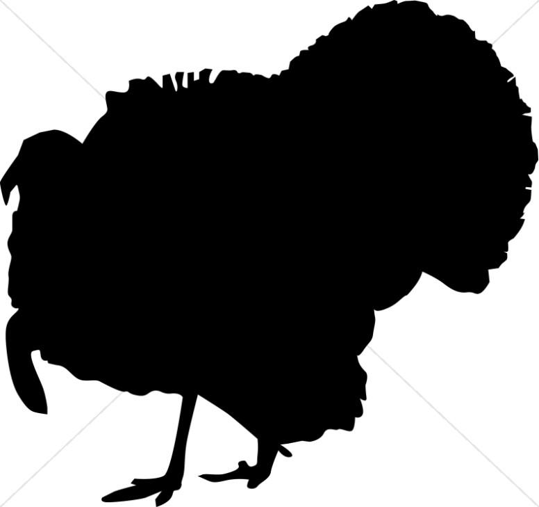 Turkey Silhouette.
