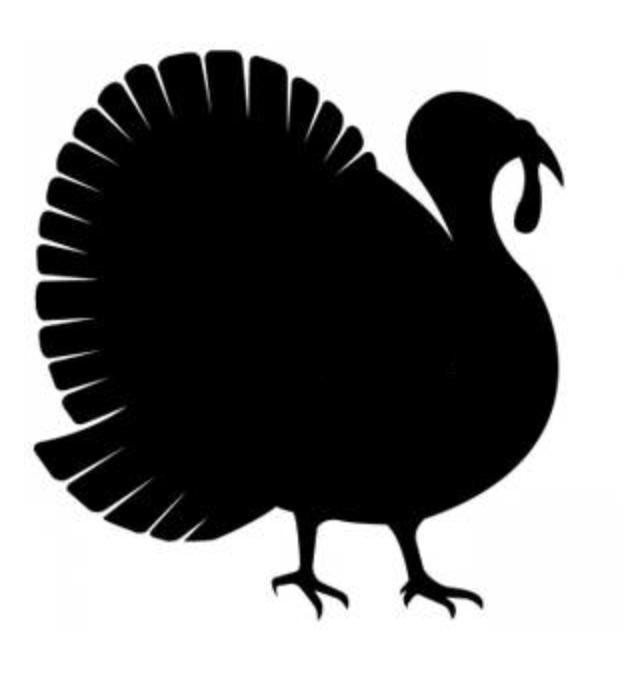 Download turkey silhouette clipart Clip art.