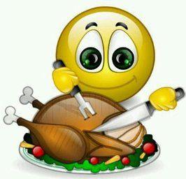 Thanksgiving Turkey smile.