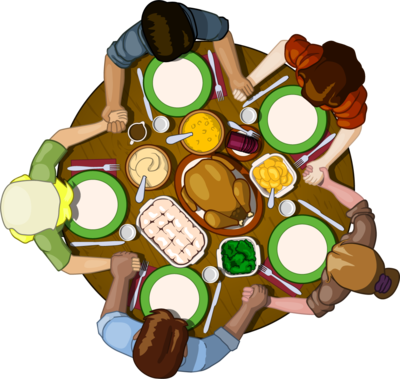 Image: Thanksgiving Table.