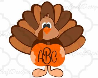 Thanksgiving SVG Cut File Turkey svg DXF cut file Cricut svg.