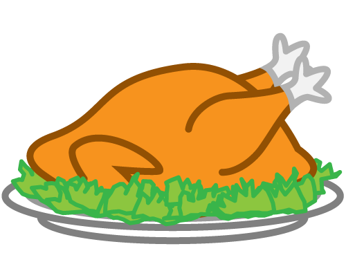 Turkey Dinner Clipart.