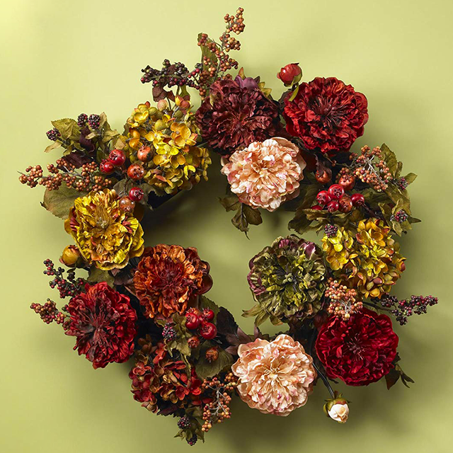 25 Easy DIY Fall Wreaths.