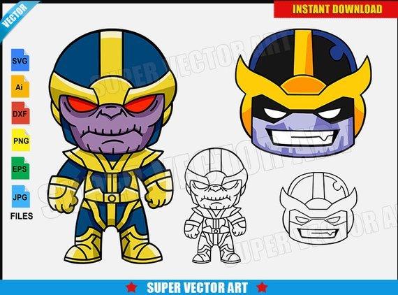 Thanos clipart 2 » Clipart Portal.