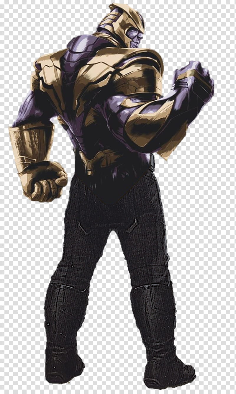 Avengers Endgame Thanos transparent background PNG clipart.