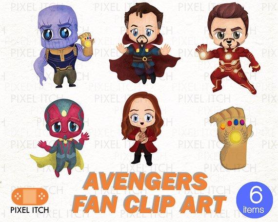 Avengers Infinity ClipArt.
