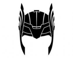 Thor clipart hat. Helmet and loki by.