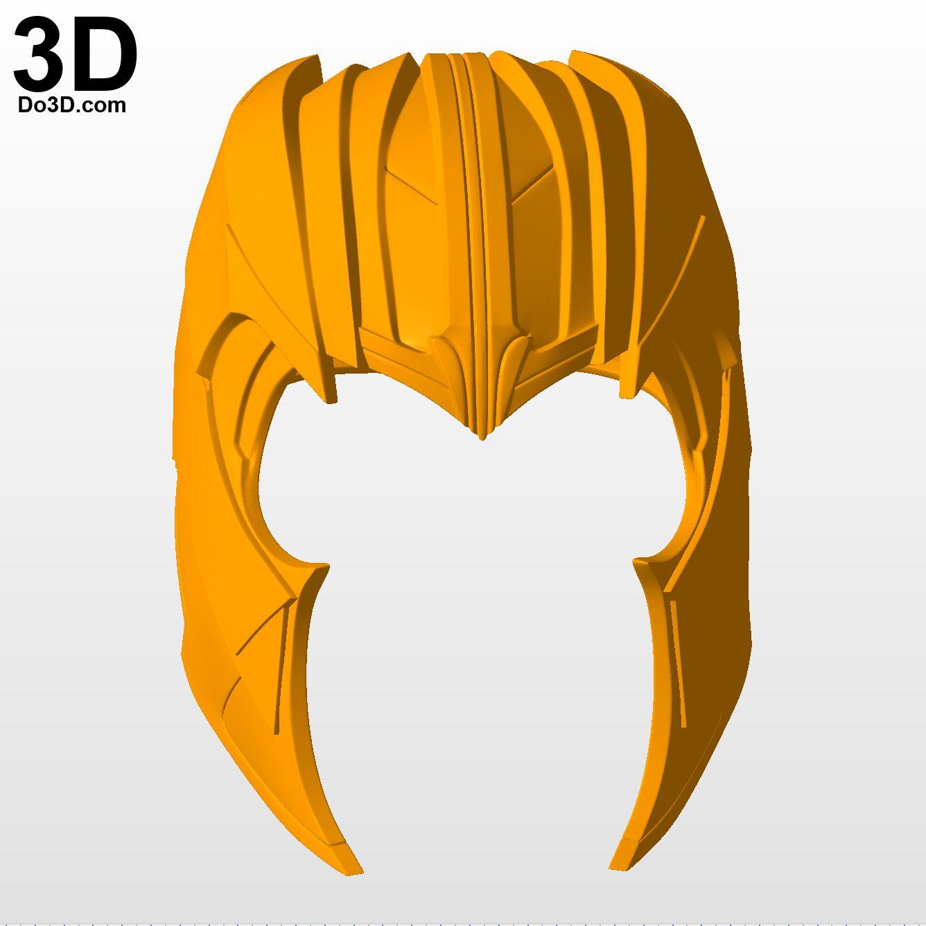 3D Printable Model: Thanos Helmet and Face Shell Avengers.