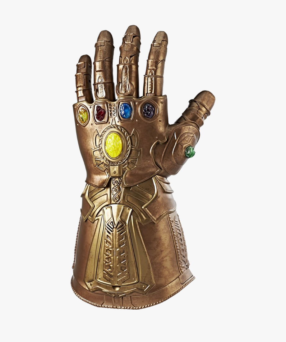 Thanos Infinity Stone Gauntlet Png Photos.