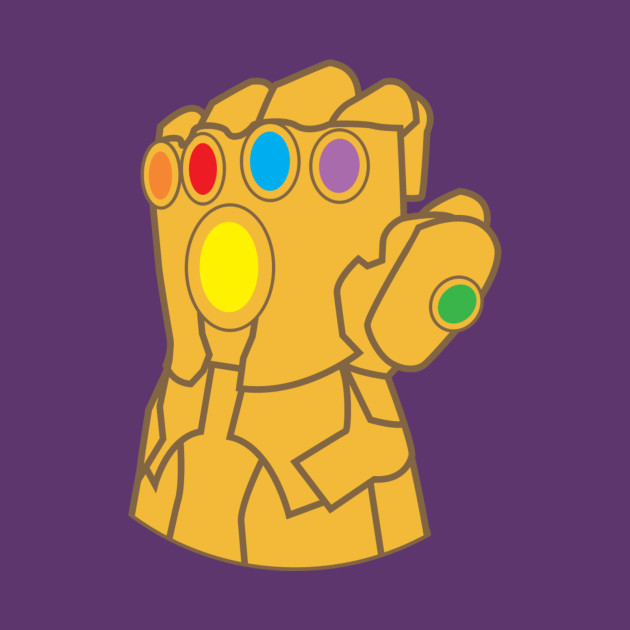 Thanos Infinity Gauntlet Purple.