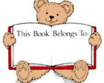 This book belongs to clipart.