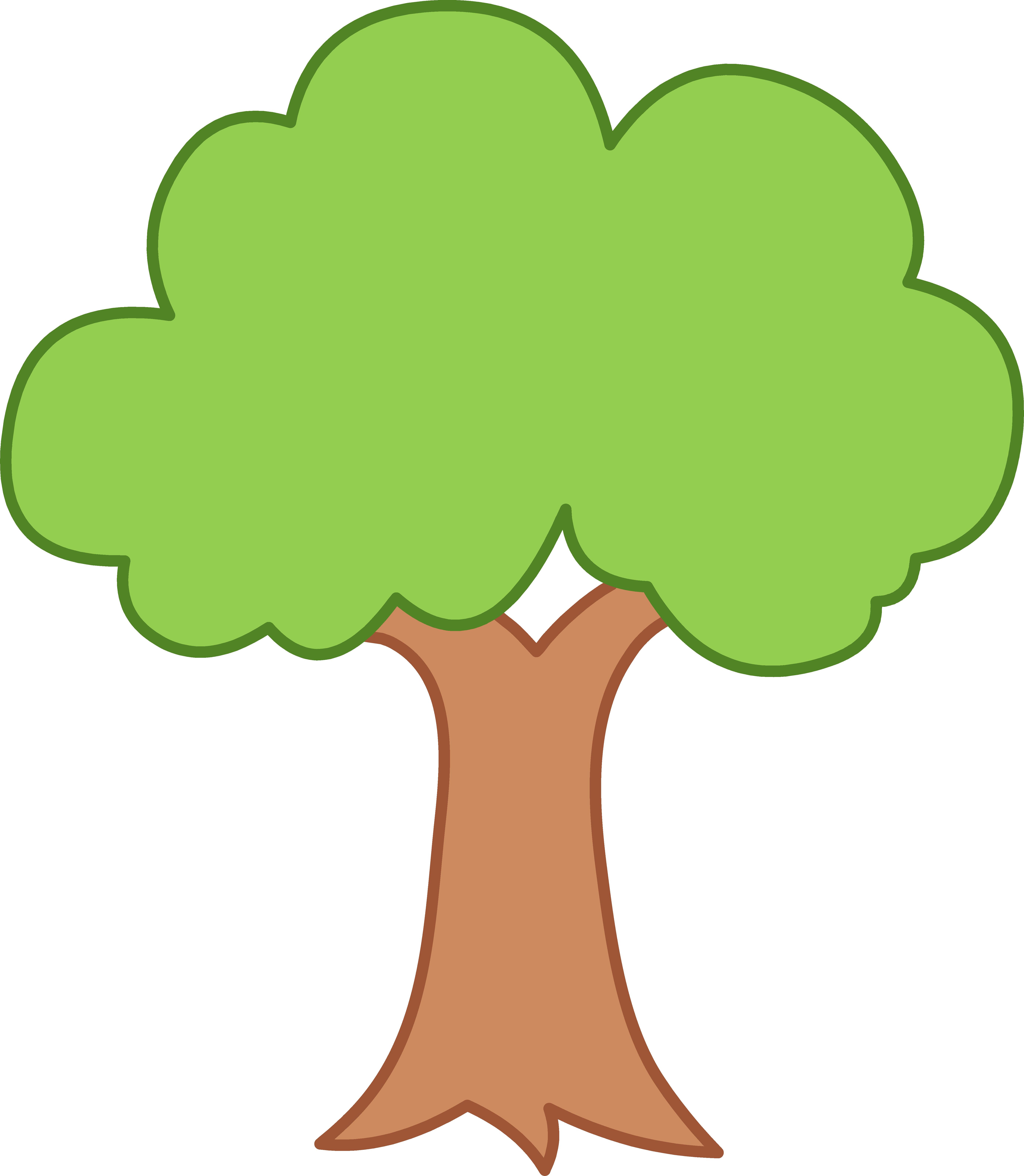 35 green tree clipart..