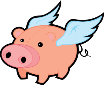 Watch more like Flying Pig Clip Art.