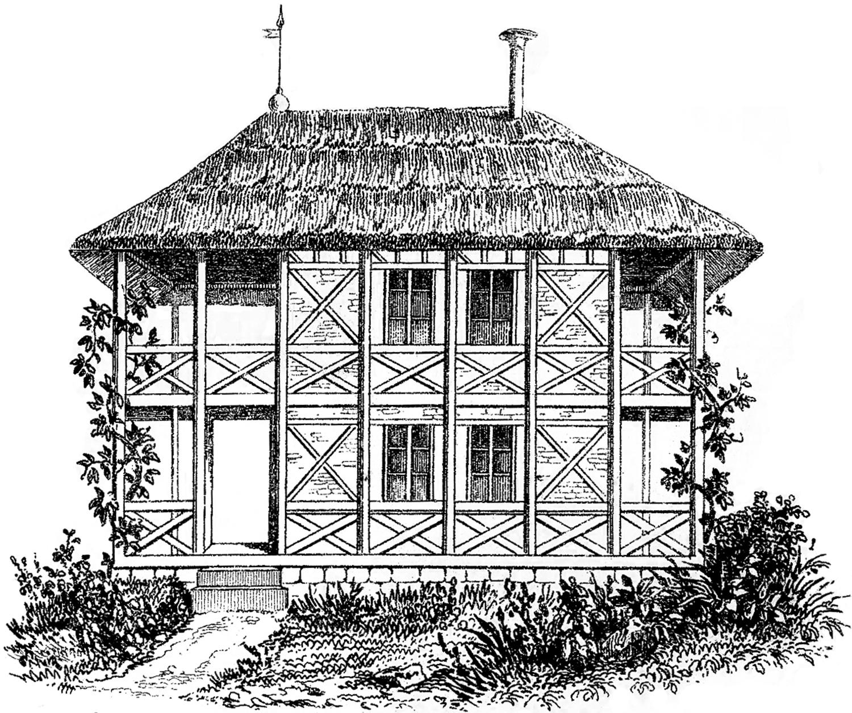 Vintage Cottage Image.
