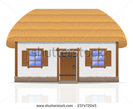 Thatched Cottage Stock Photos, Royalty.