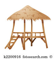 Thatched roof house Stock Illustrations. 44 thatched roof house.
