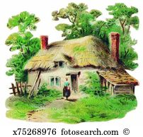 Thatched cottage Illustrations and Clip Art. 39 thatched cottage.