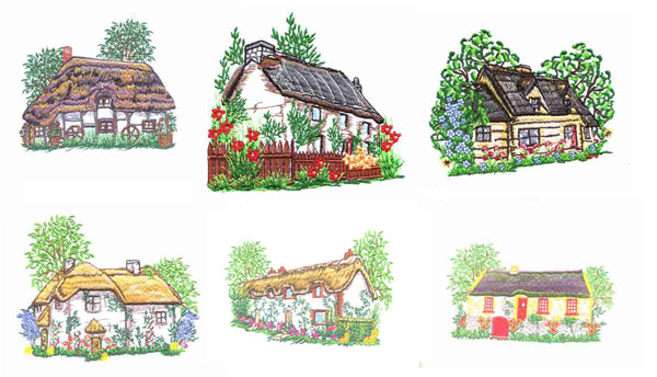 Thatched Cottages by Glenn Harris OUT.