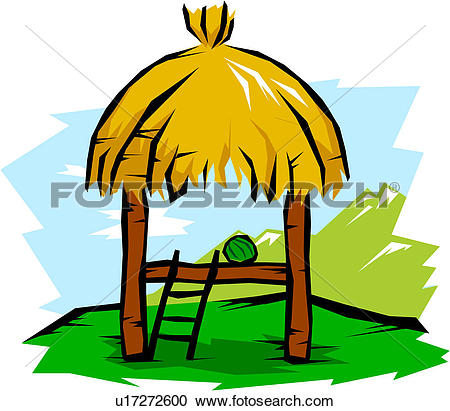 Thatched hut Clip Art Royalty Free. 59 thatched hut clipart vector.