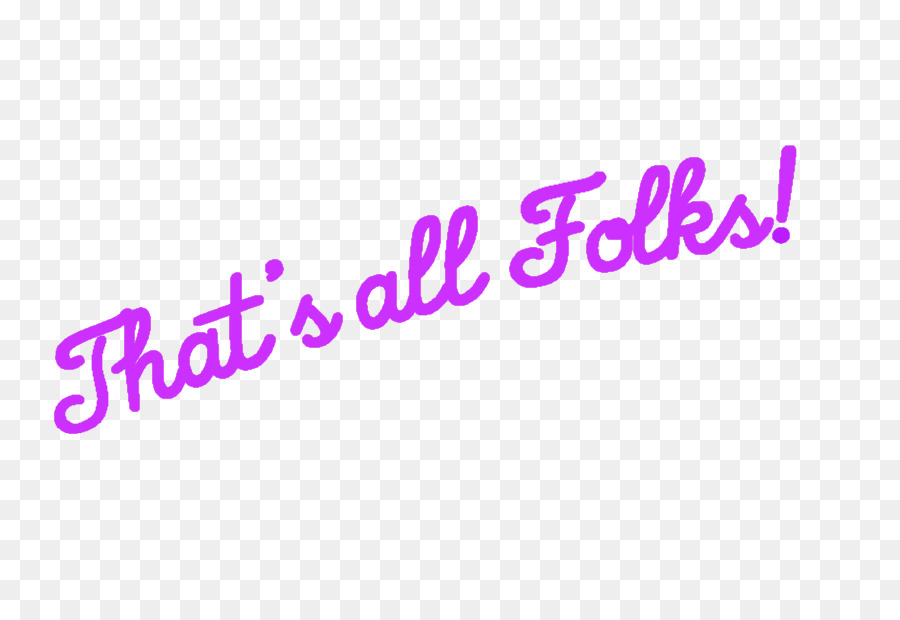 Thats All Folks Png & Free Thats All Folks.png Transparent.