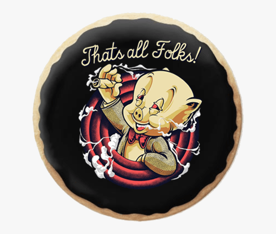 Thats All Folks Tees , Transparent Cartoon, Free Cliparts.