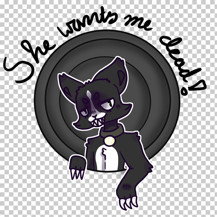 Whiskers Cat Dog Canidae, Thats all Folks PNG clipart.