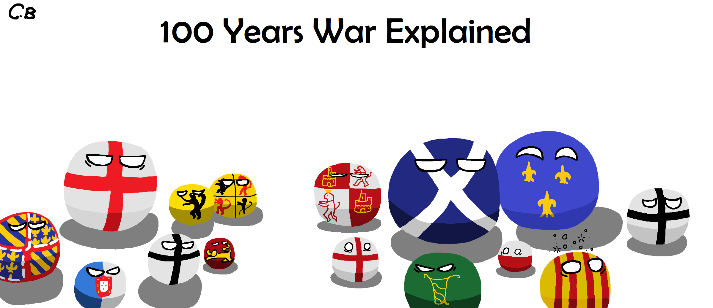 100 years war explained..