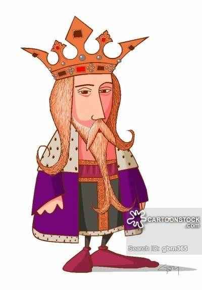 King Edward III of England caricature, Hundred Years War.