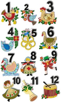 12 days of christmas clipart 8 » Clipart Station.