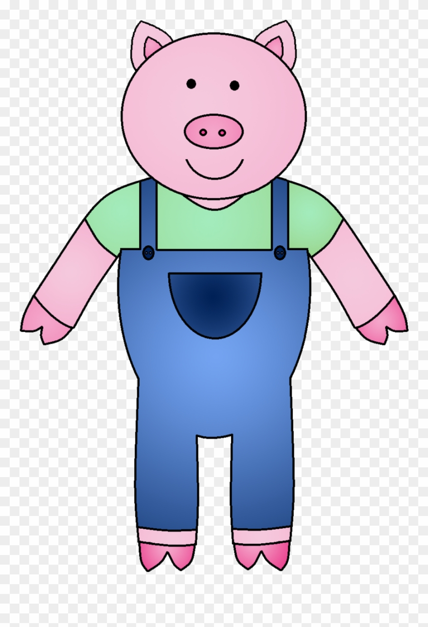 The Three Little Pigs Clipart Clipartmonk.