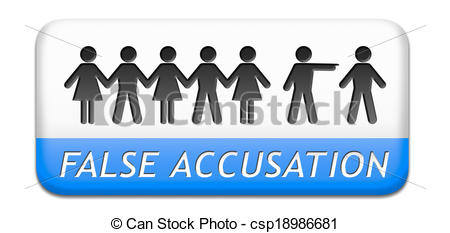 Accusation Clipart.