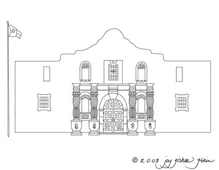 Alamo Clipart.