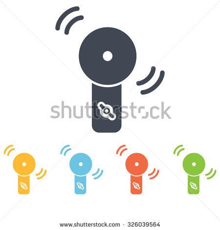 Alarm Device Icon Stock Vector Illustration 326039564 : Shutterstock.