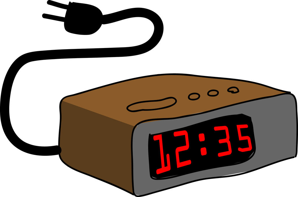 Picture Of An Alarm Clock.