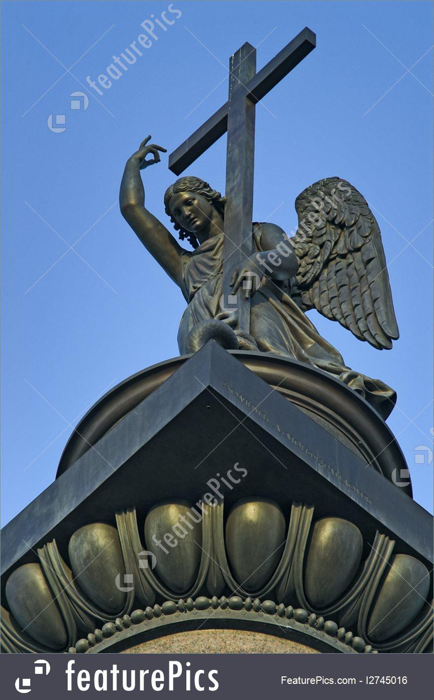 Angel Atop The Alexander Column Photo.