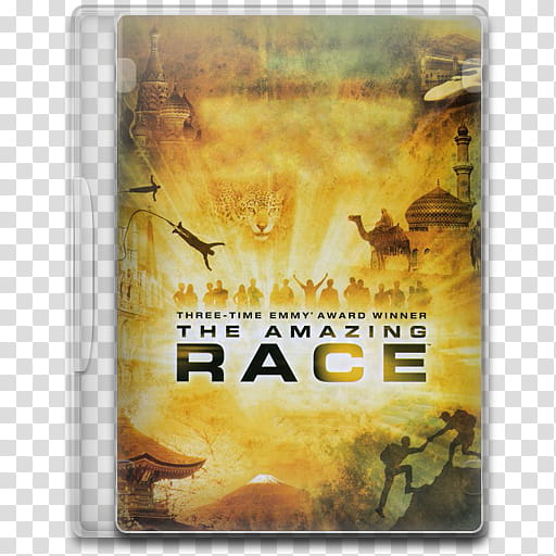 TV Show Icon , The Amazing Race , The Amazing Race DVD case.