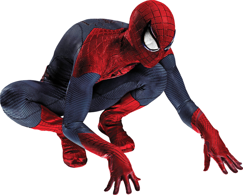 Amazing SpiderMan PNG Image.