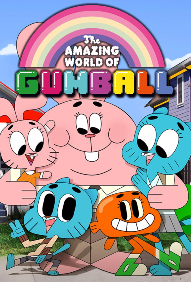 The Amazing World of Gumball Font.