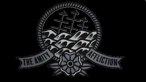 the amity affliction logo.
