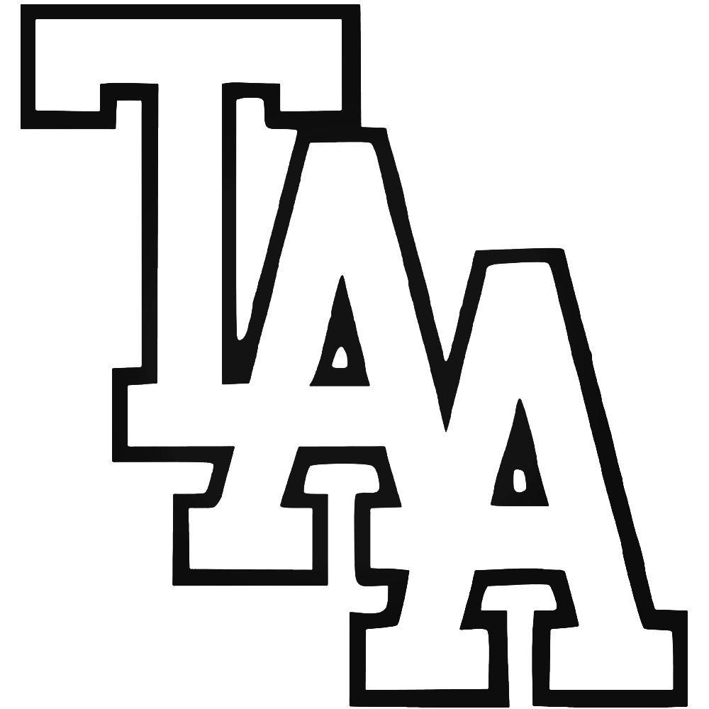 The Amity Affliction Taa Logo Vinyl Decal Sticker BallzBeatz.