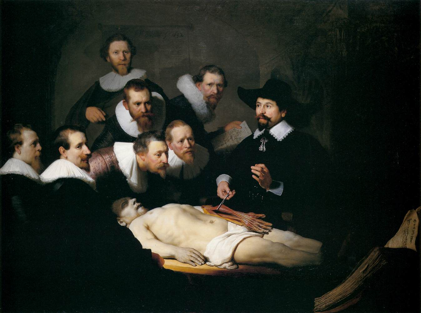 Images: Rembrandt Anatomy Lesson Of Dr. Tulp.