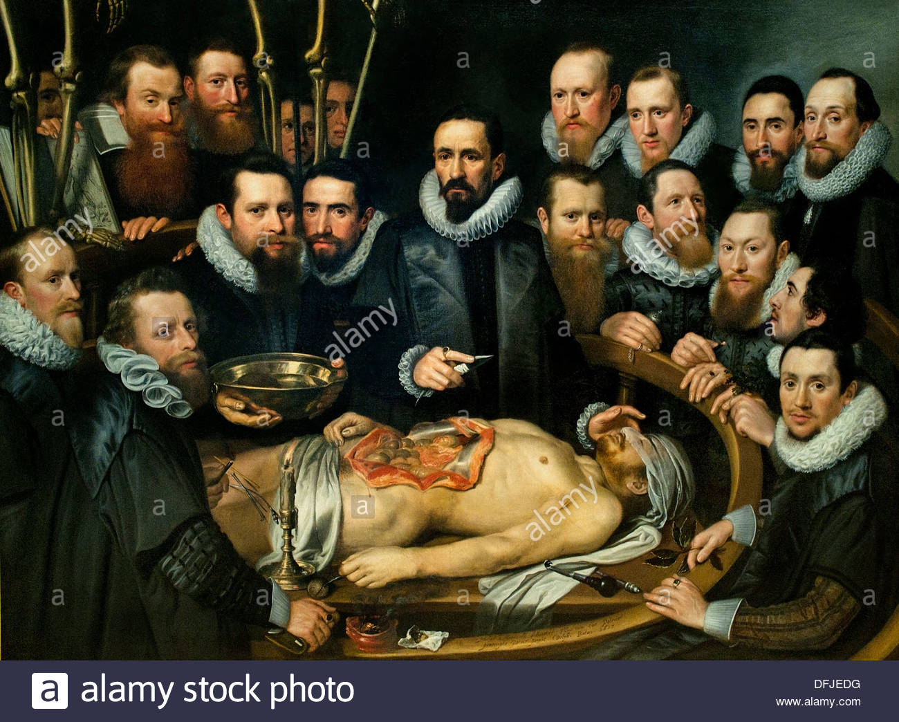 The anatomy of lesson of dr nicolaes tulp clipart - Clipground