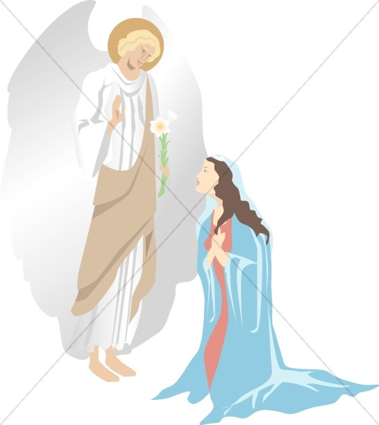 The Annunciation of Christ.
