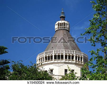 Stock Photo of Temple in Nazareth k15450024.